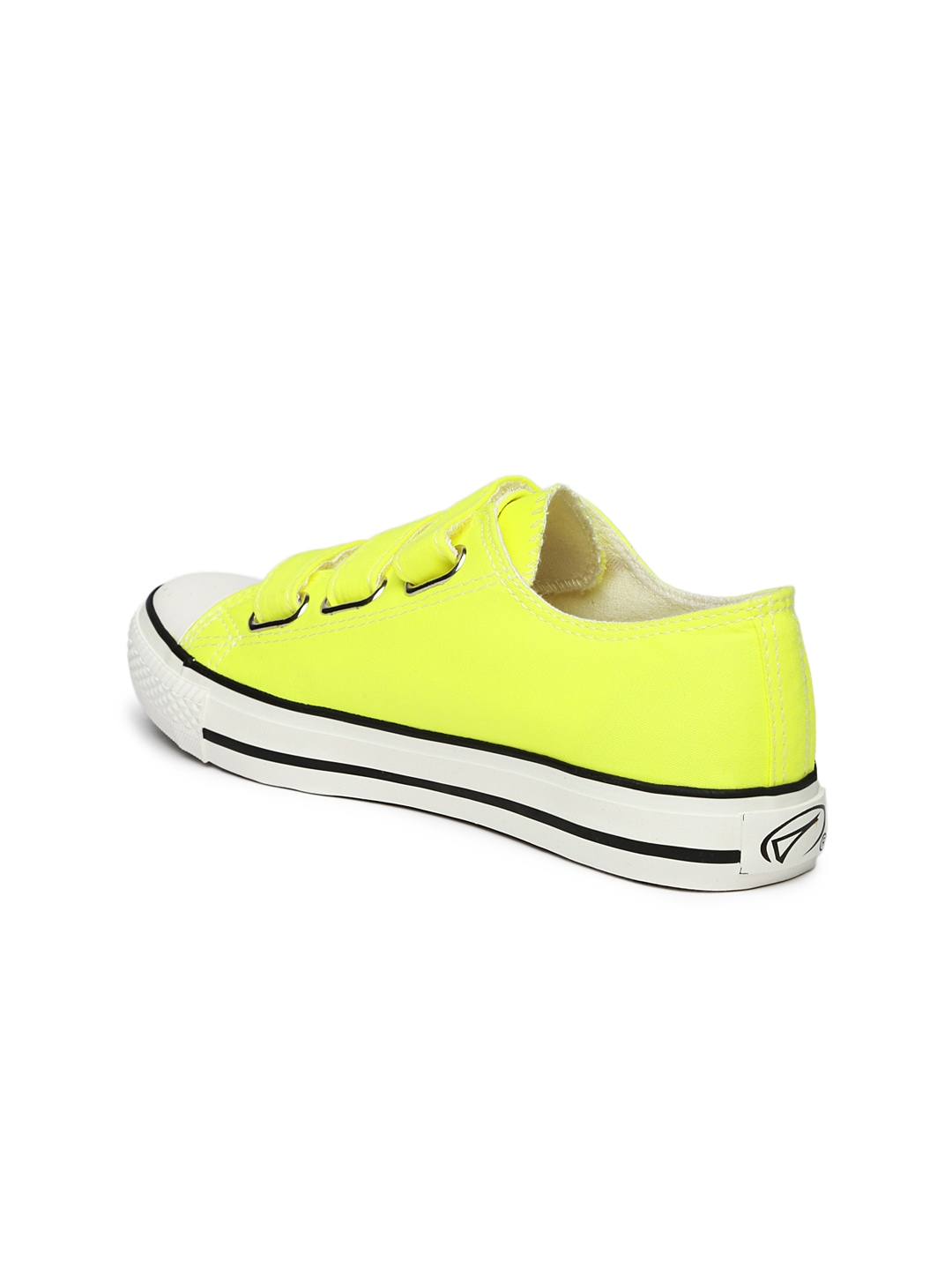 Myntra Boltio Women Neon Yellow Sneakers 875366 | Buy ...