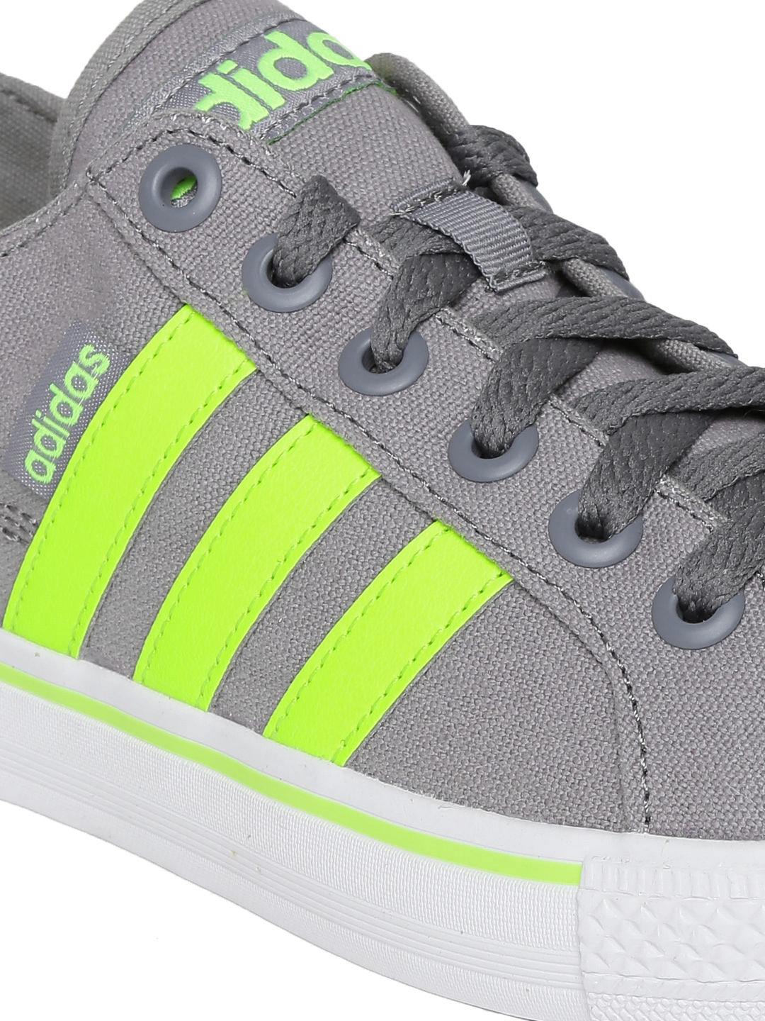 Adidas Neo Grey And Green