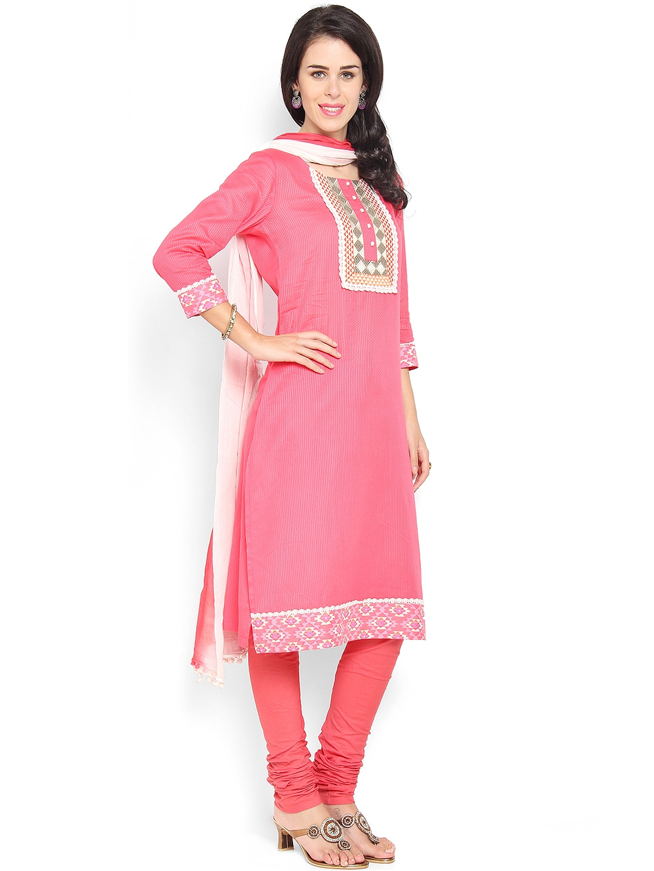Myntra online shopping churidar materials