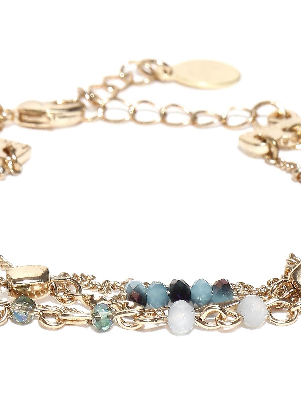 myntra accessorize goldtoned chain bracelet 896819 buy