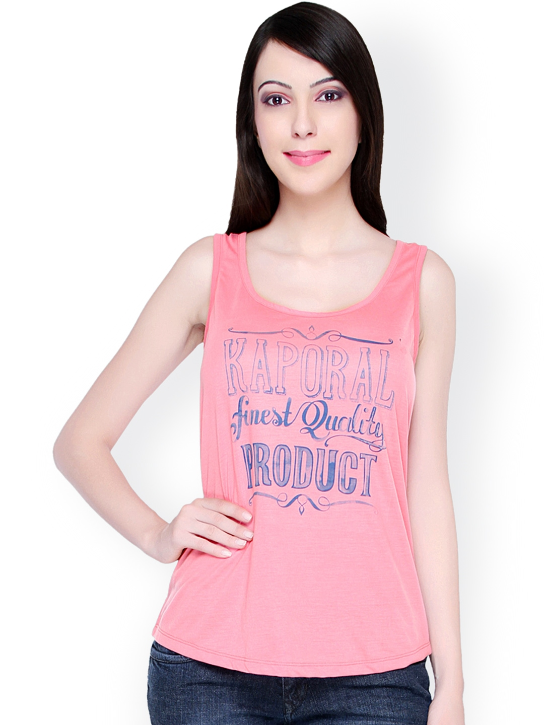 Myntra Bedazzle Pink Printed T Shirt 900352 Buy Myntra