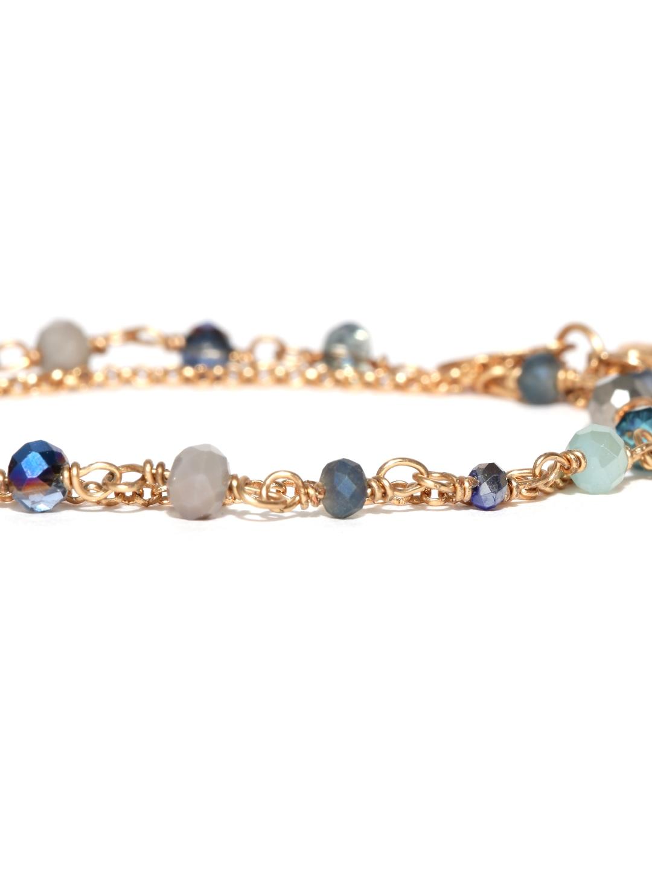 myntra accessorize goldtoned chain bracelet 907986 buy