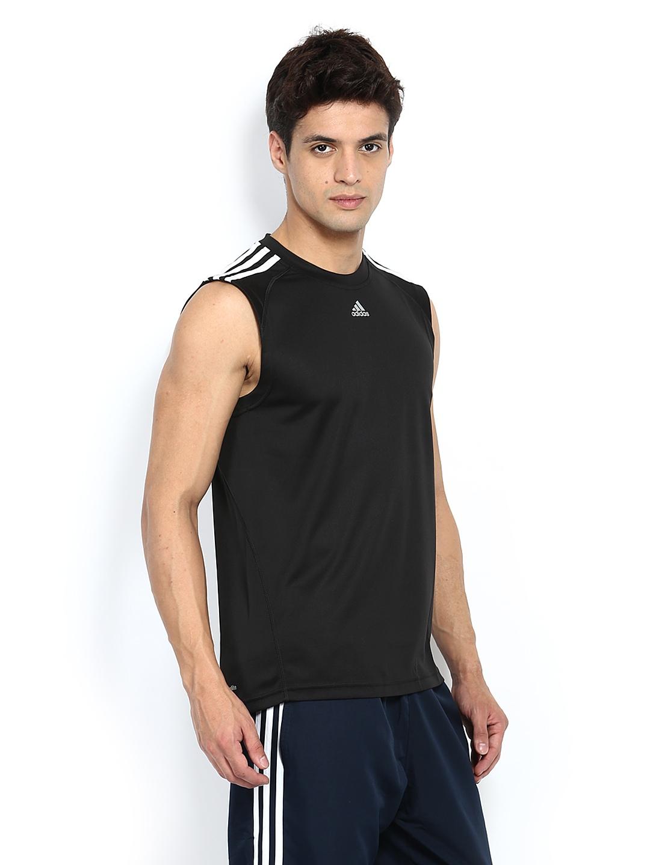 fb2afd8c2f6e6e buy adidas t shirts online Adidas Men Black Sleeveless T  shirt 3204dd1792ad551ca865e7c90c5407cb images mini