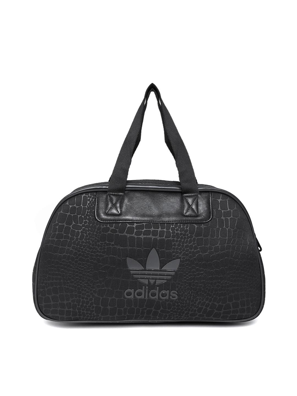 Popular Women Black Duffle Bag 705549  Buy Myntra Adidas Originals Duffle Bag