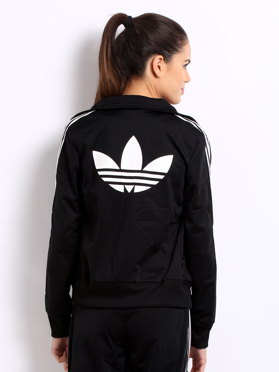black and pink adidas jacket