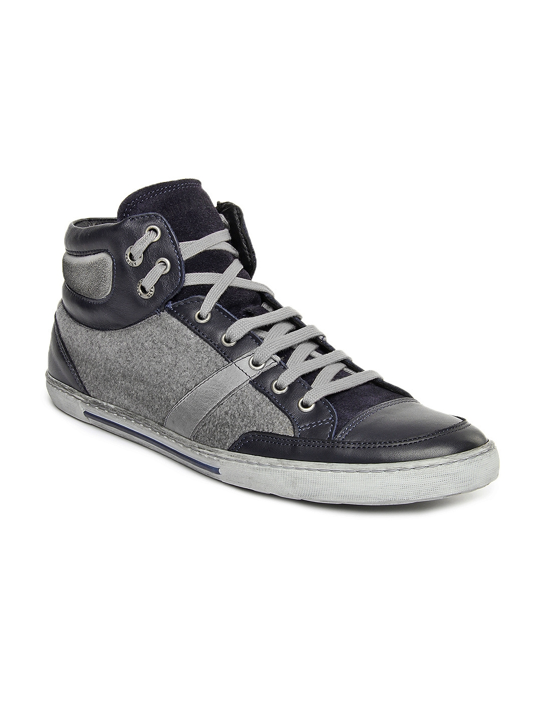 myntra antony morato vintage men blue grey sneakers 557096 buy myntra antony morato casual. Black Bedroom Furniture Sets. Home Design Ideas
