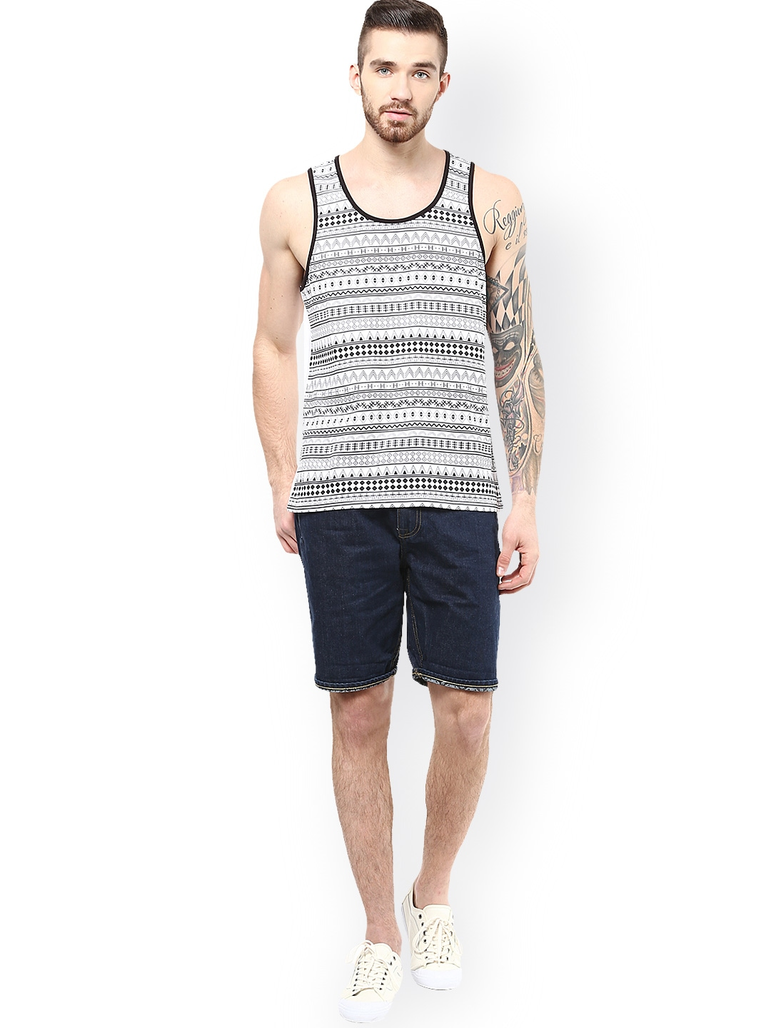 For this reason, clothing Shop Online is happy to provide you with a convenient place to buy discount men's sleeveless t-shirts online. The Heavyweight Tank Top by Anvil is made of pre-shrunk % cotton and can work perfectly as an undershirt.