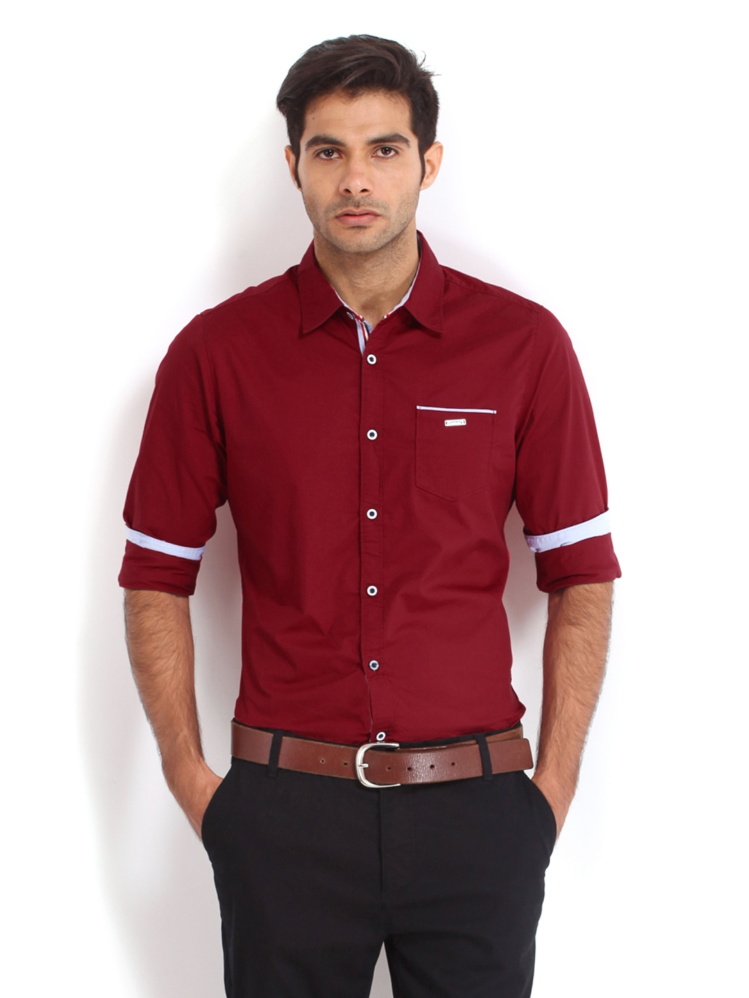Highlander Men's Checkered Casual Red, Dark Blue Shirt. 4 Shirts for Men Online- Get Latest Collection at Flipkart Shopping for men's shirts does not demand taking out time to shop in a mall or hop from one store to another, There are two basic types of men's shirts – formal and manga-hub.tk than these two, we also have the party.