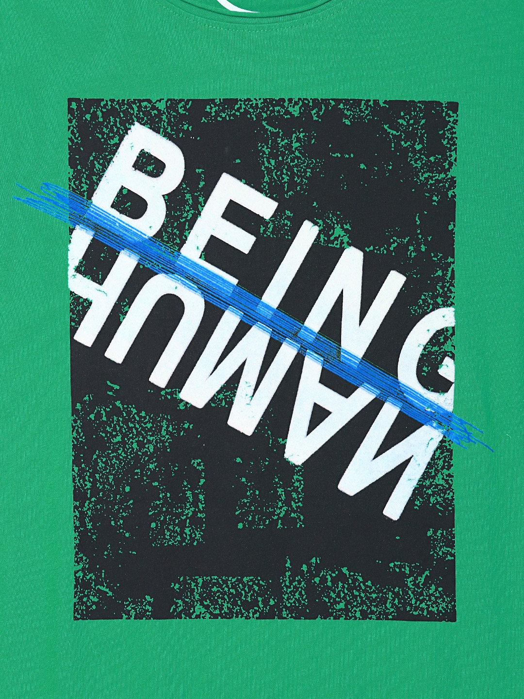 Shirts human design - Buy Being Human Clothing Men Green Printed T Shirt Tshirts For Men Myntra