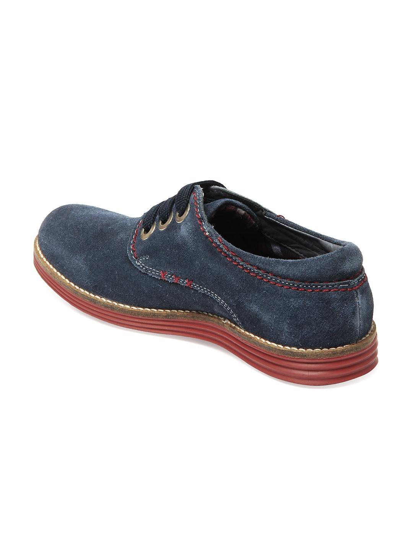 myntra buckaroo navy eurico casual shoes 191306 buy