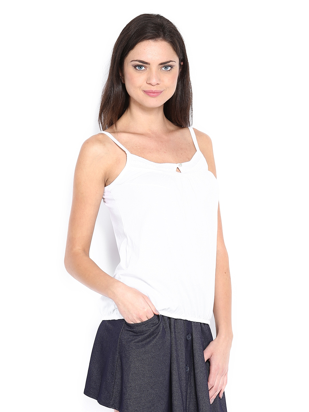 Myntra The Collection by Debenhams Women White Top 348592 ...