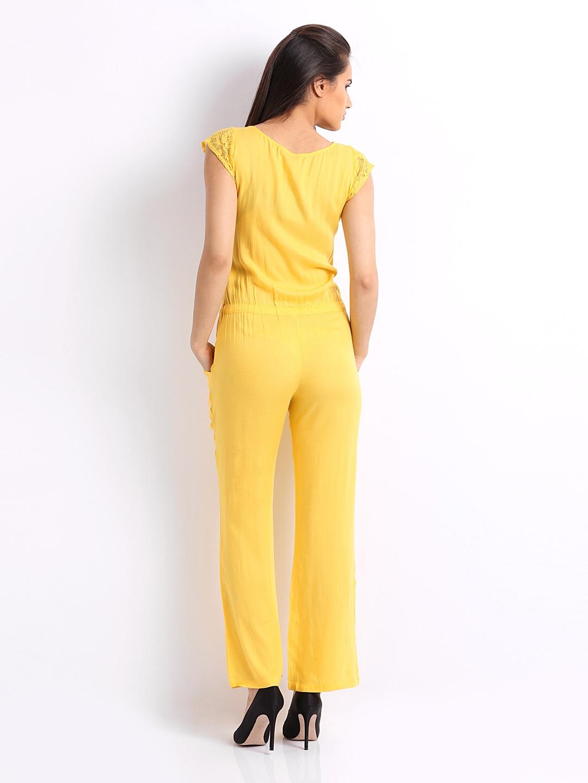 Creative Cottinfab Women Yellow Jumpsuit 288177  Buy Myntra Cottinfab Jumpsuit