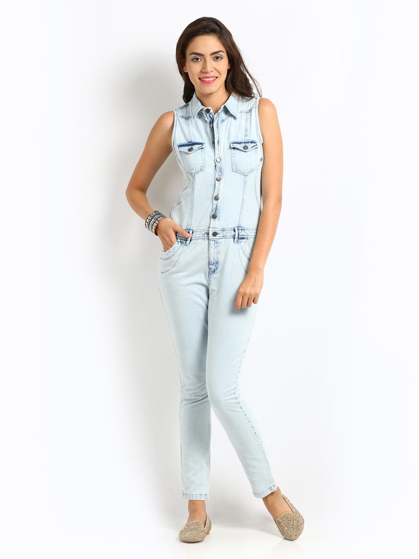 Buy Denim Jumpsuits Online | Fashion Ql