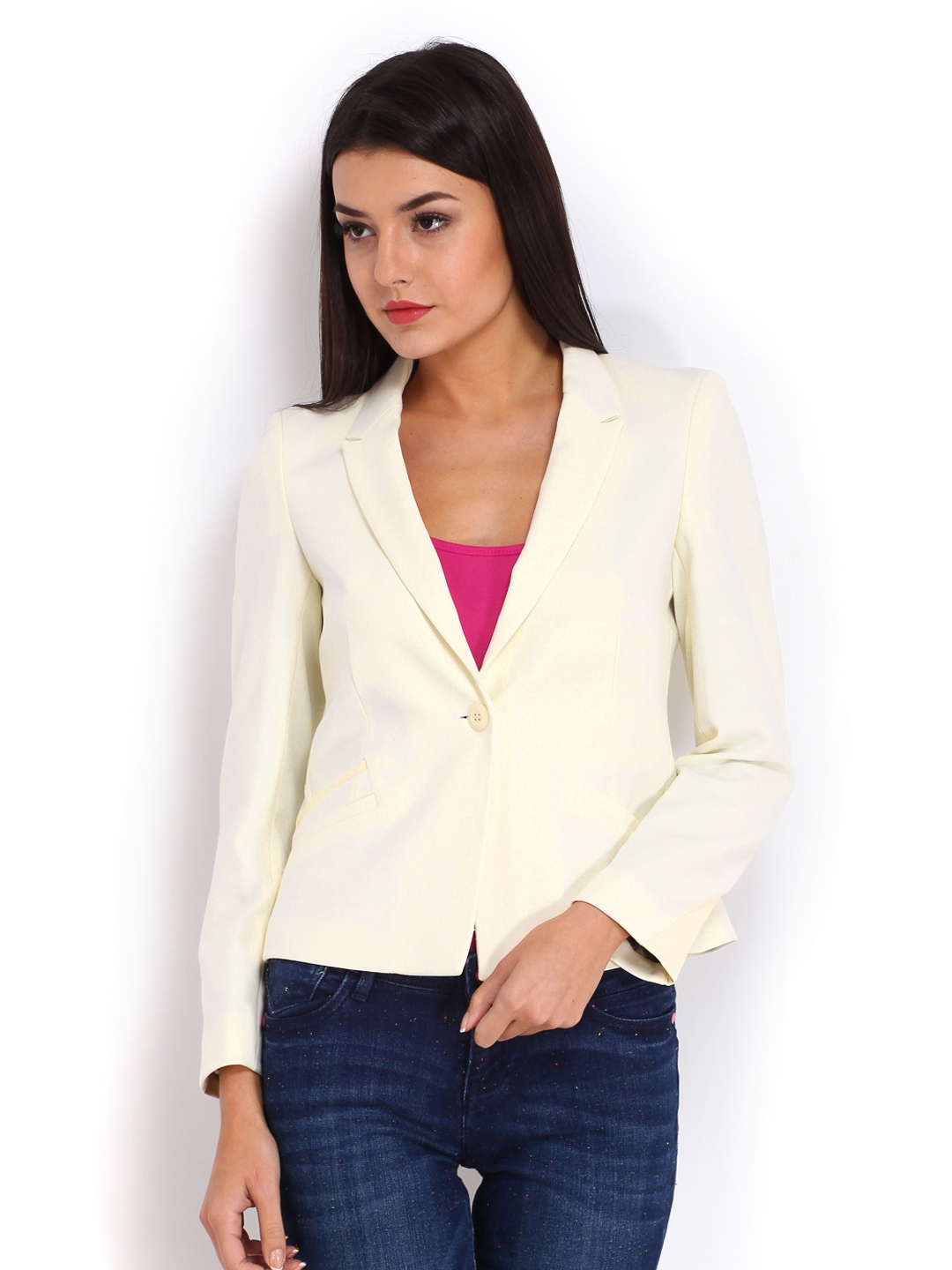 "LAUREN RALPH LAUREN Off White % Linen Blazer Suit Jacket Size 4 S Brand new without tag! Shoulder 15 Pit to pit 18"" Length "" Ports International Womens Blazer Size 14 Off White ."