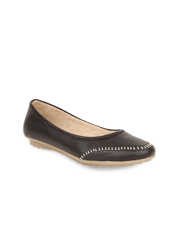 myntra elly black flat shoes 589819 buy myntra