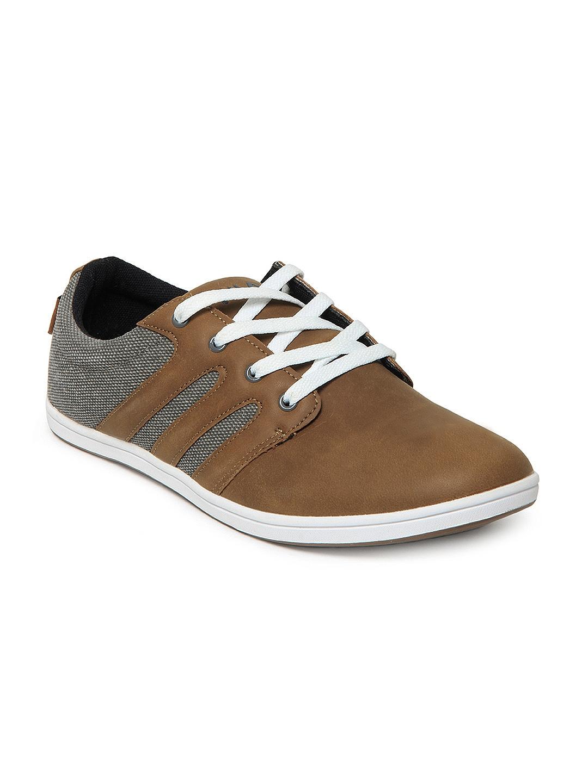 myntra fila brown calve casual shoes 170458 buy