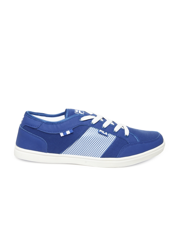 myntra fila blue casual shoes 545061 buy myntra fila