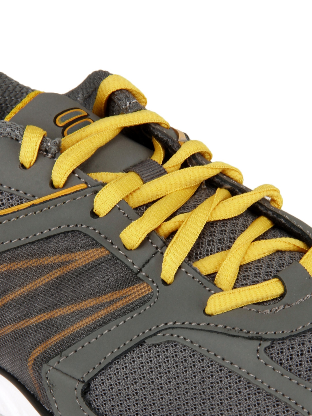 53060ddb4271 Buy Fila Men Grey   Yellow Ultimate Lite Sports Shoes - Sports Shoes for Men