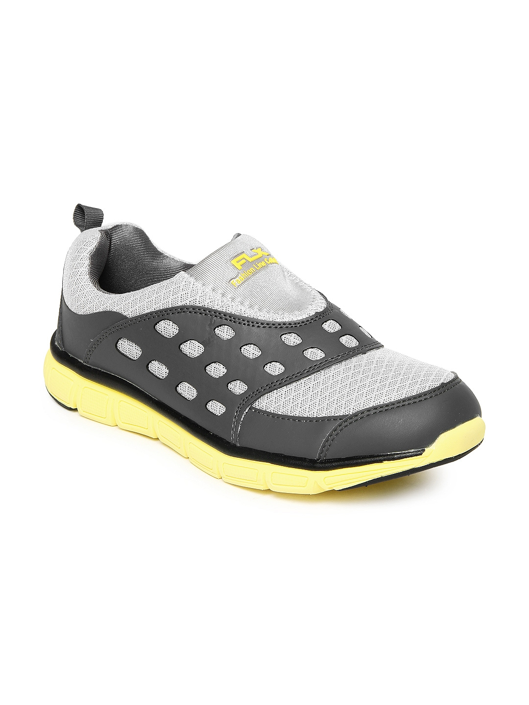 myntra flx grey preuto sports shoes 215717 buy