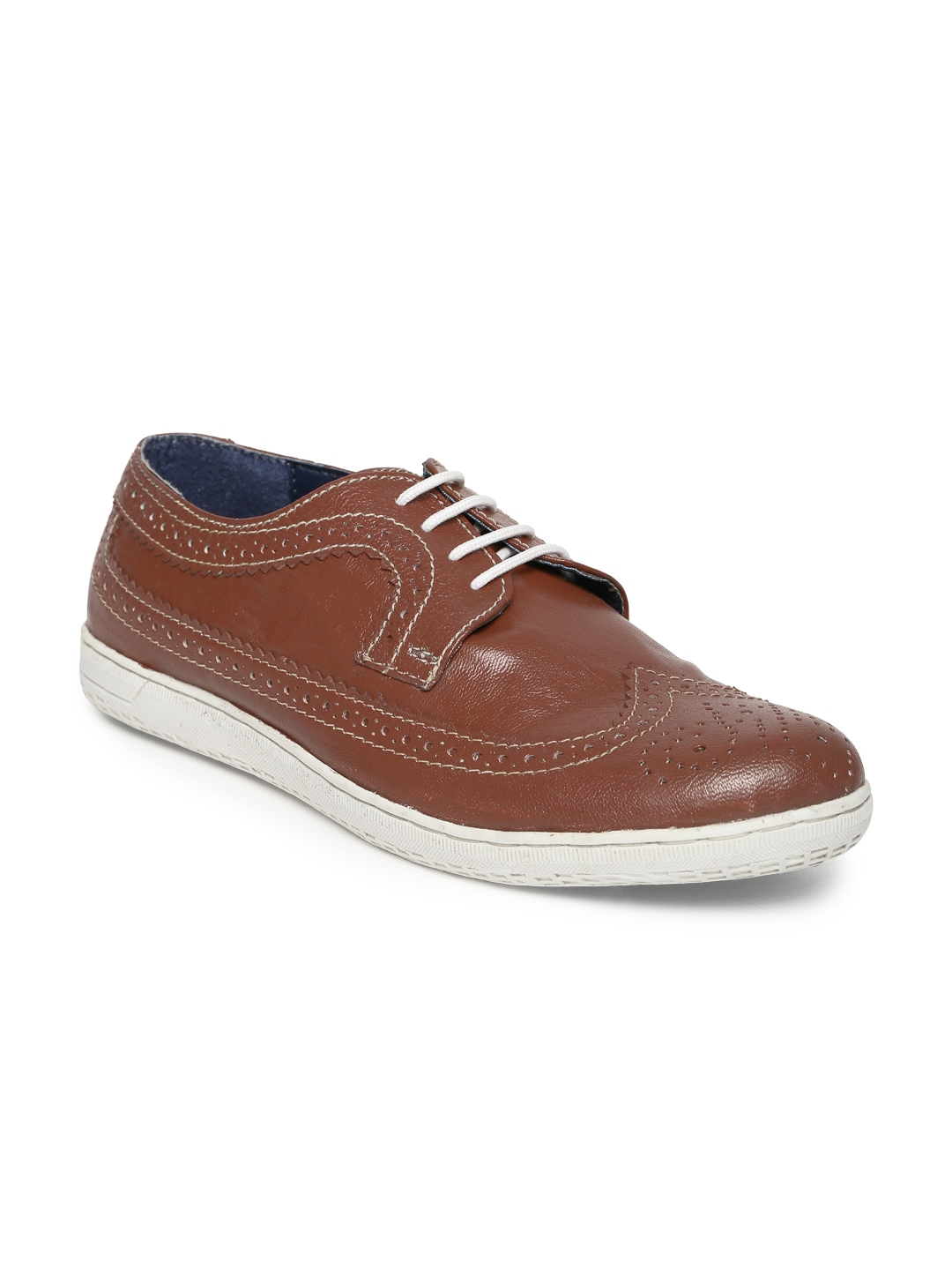 freecultr brown casual shoes at myntra