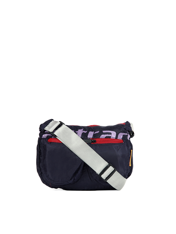 Myntra Fastrack Women Blue Sling Bag 8237 | Buy Myntra ...