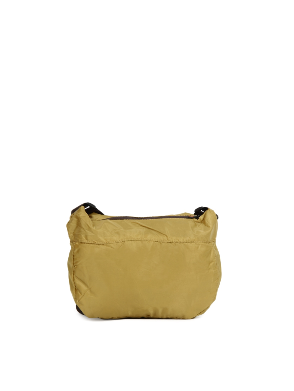 Myntra Fastrack Women Mustard Sling Bag 8240 | Buy Myntra ...