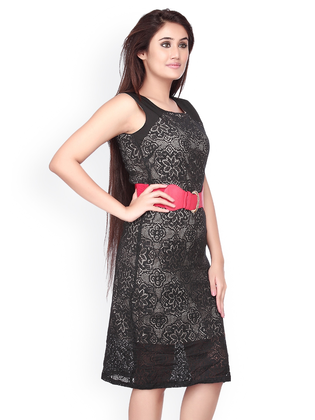 Luxury DressBerry Women Black Dress  Myntra Via Myntra