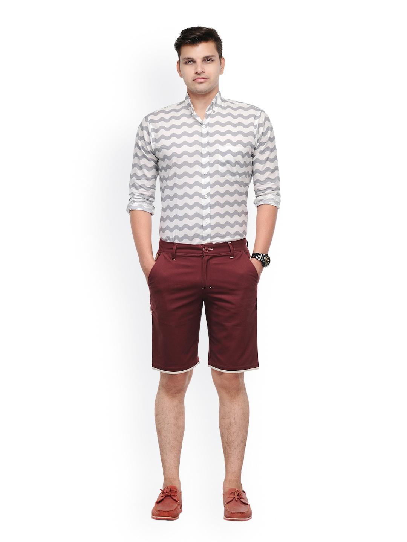 Myntra haute couture men maroon shorts 608220 buy myntra for Haute couture men