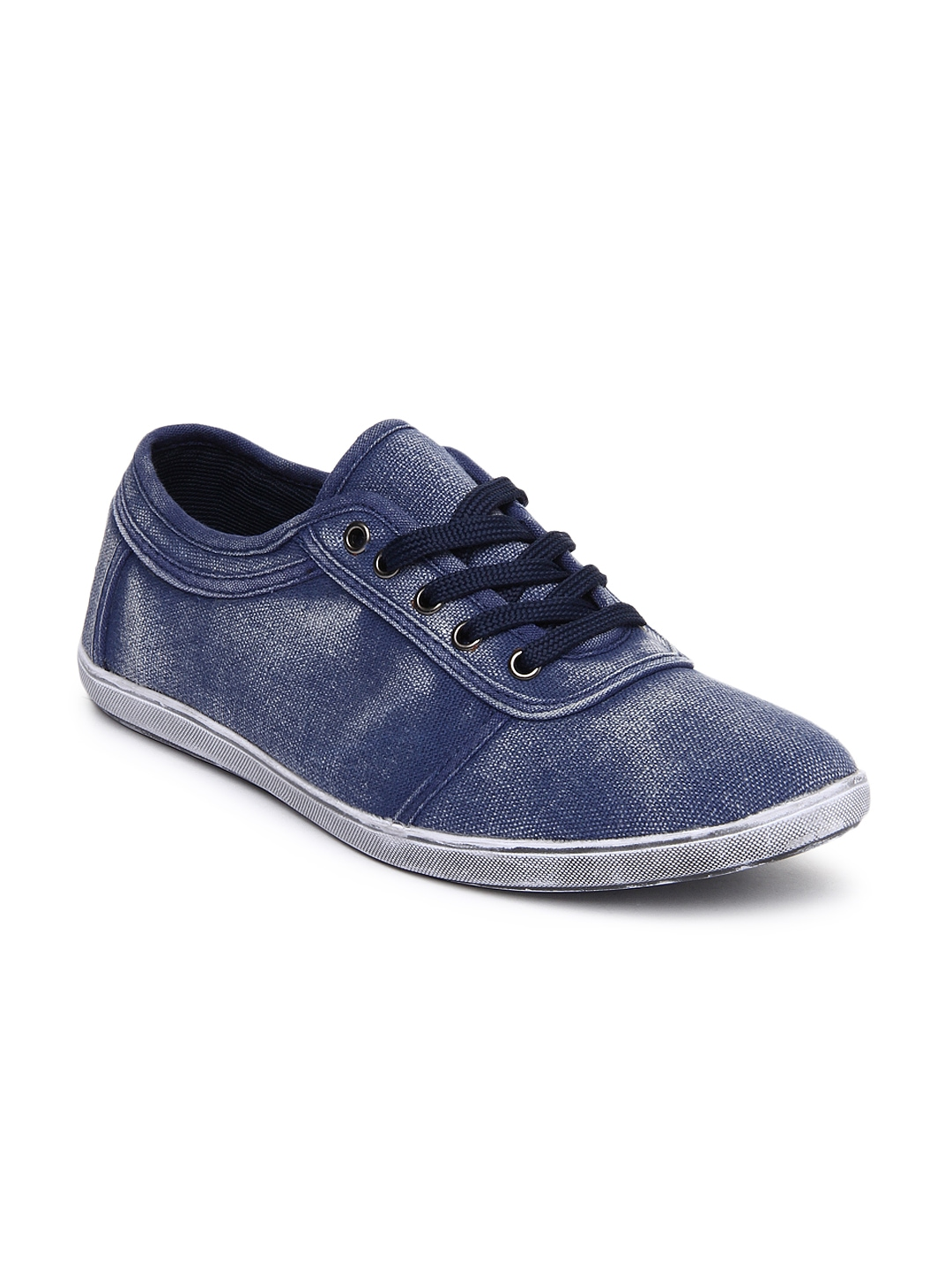 myntra inmark blue casual shoes 645699 buy myntra