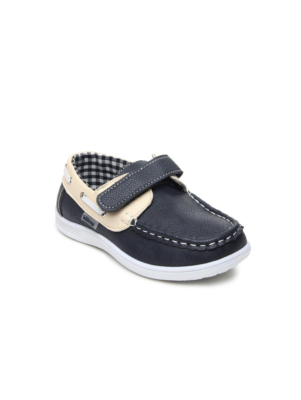 myntra kittens boys black casual shoes 190212 buy myntra