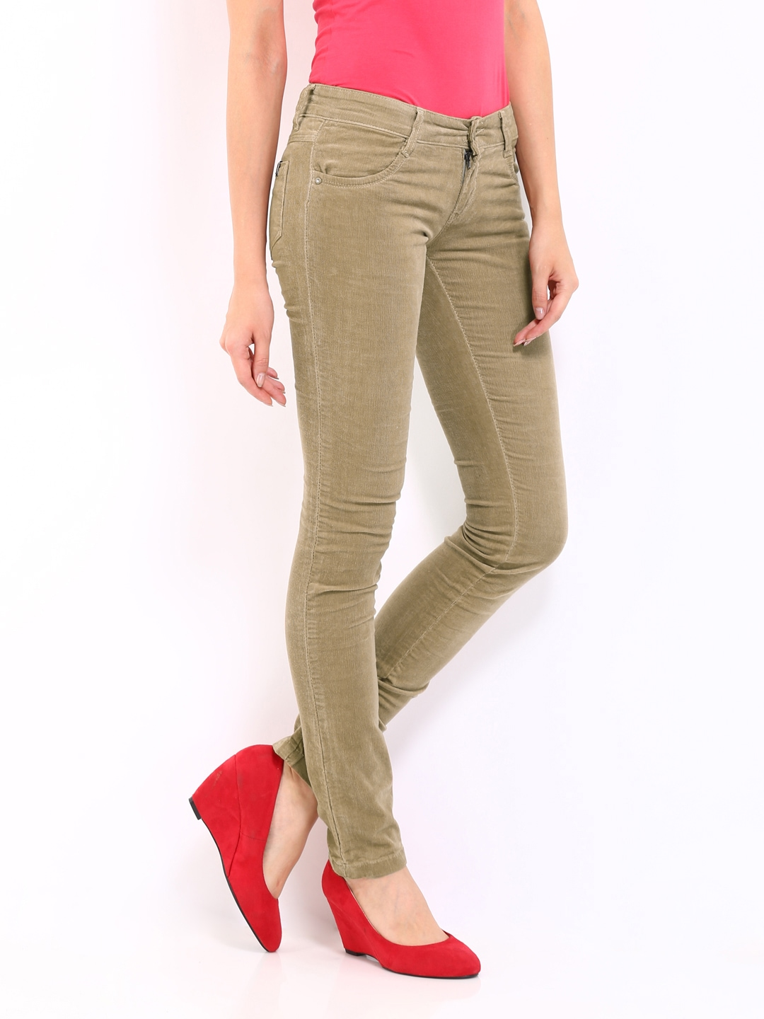 Beige Jeans For Women