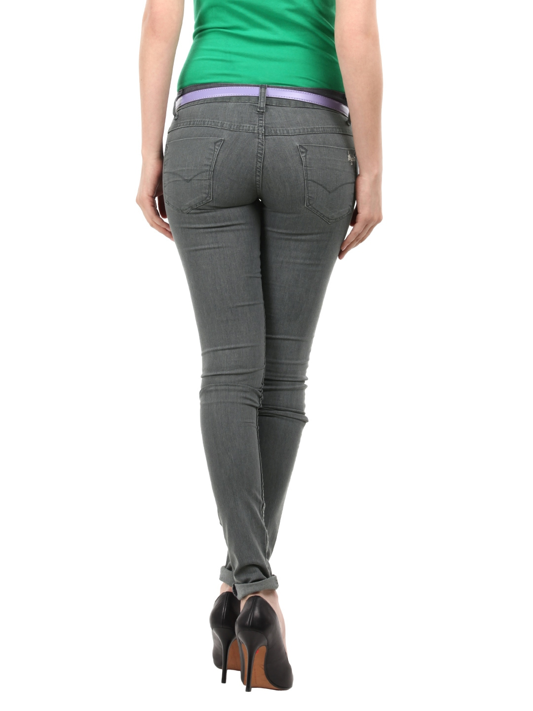 Grey Jeans For Women Ye Jean
