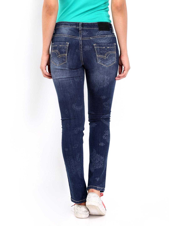 myntra lee cooper women blue annie slim fit jeans 367196 buy myntra lee cooper jeans at best. Black Bedroom Furniture Sets. Home Design Ideas