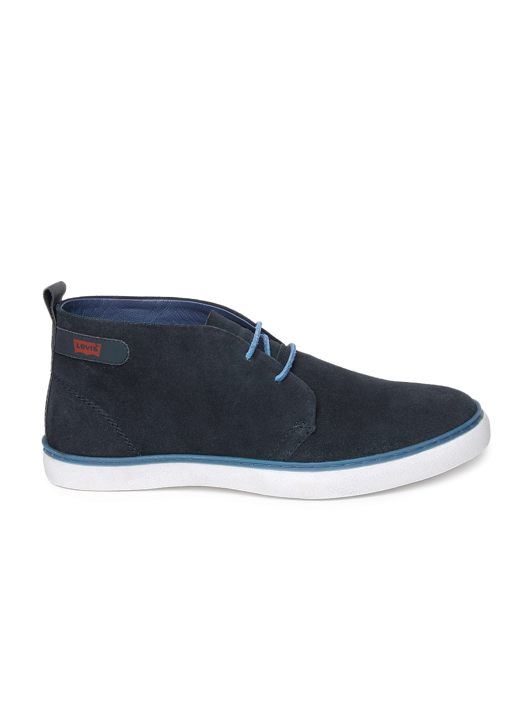 myntra levis navy suede casual shoes 498062 buy