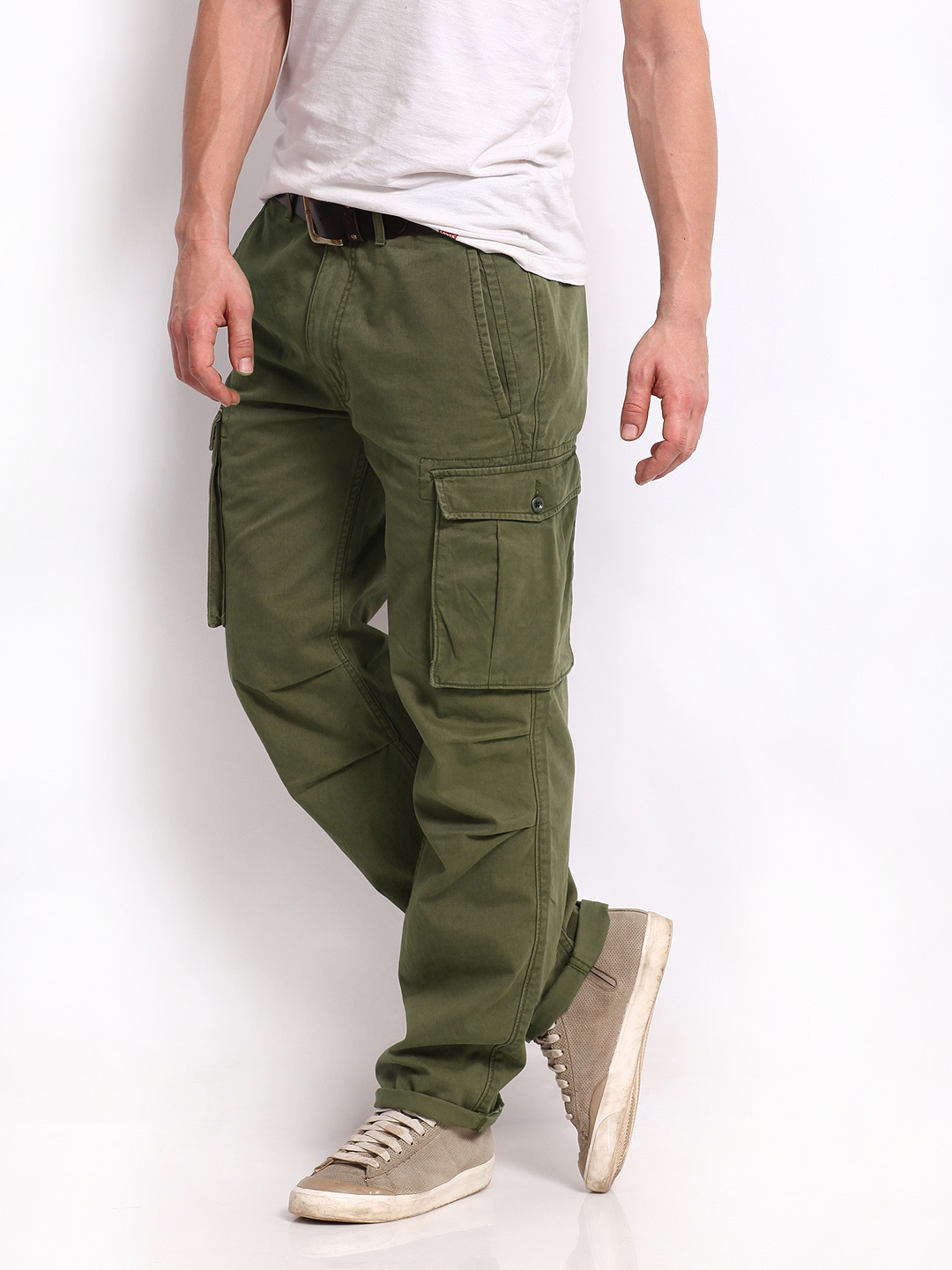 ... Cargo Trousers 1287627 for men online in india on Myntra at Yebhi.com