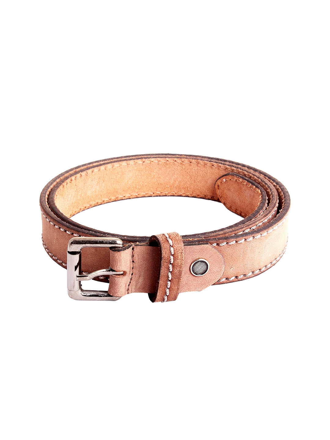 Myntra Ligans NY Men Brown Leather Belt 585302