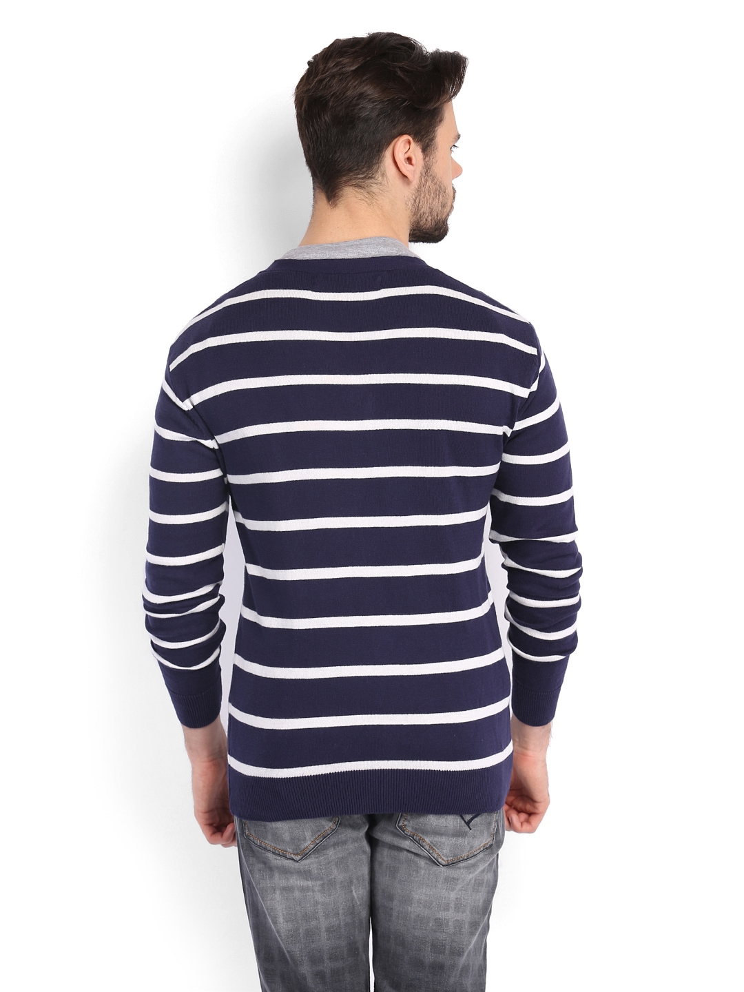Shop navy cardigan sweater at Neiman Marcus, where you will find free shipping on the latest in fashion from top designers. Available in Navy, Winter White. More Details Neiman Marcus Cashmere Collection Cashmere Intarsia Open-Front Cardigan Details 7GG, 4-ply knit intarsia cardigan.