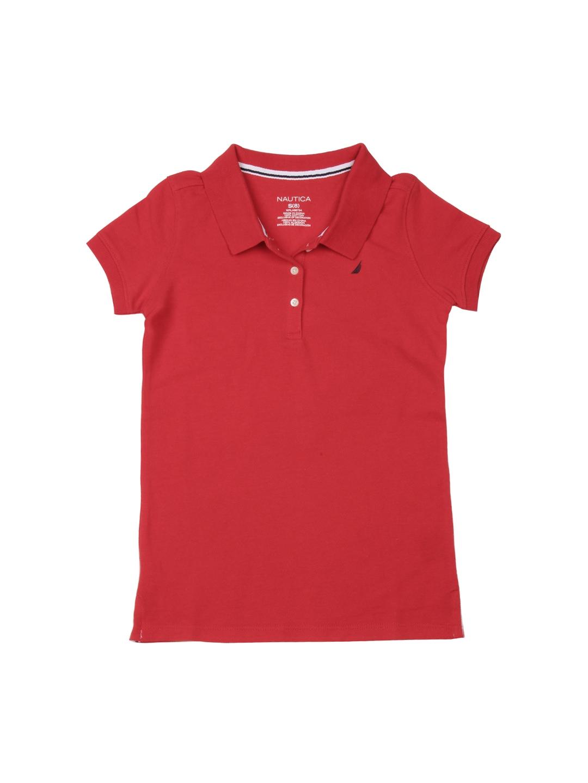 Myntra nautica girls red polo t shirt 255273 buy myntra for Myntra t shirt design