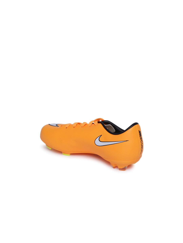 Neon orange nike logo