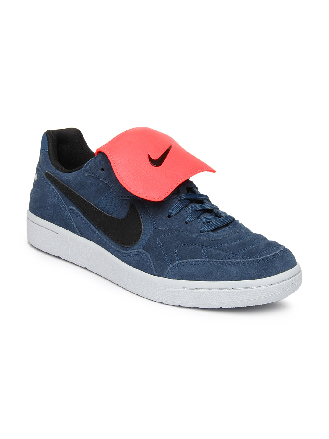 myntra nike blue nsw tiempo 94 casual shoes 613055