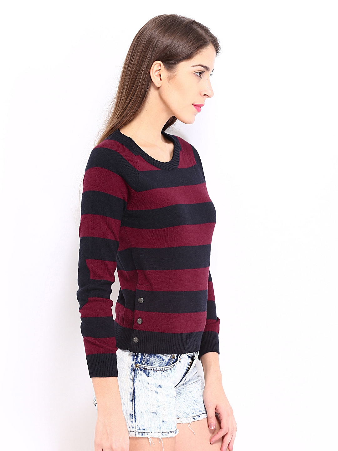 Red and Black Striped Dresses for Women | Dress images