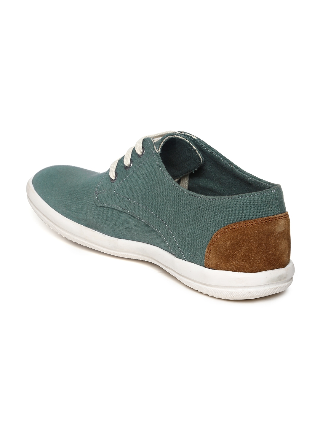 myntra provogue teal green canvas shoes 444000 buy