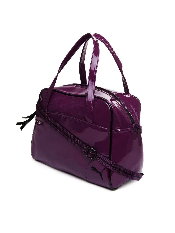 Myntra Puma Purple Mini Lifestyle Handbag 372290 Buy
