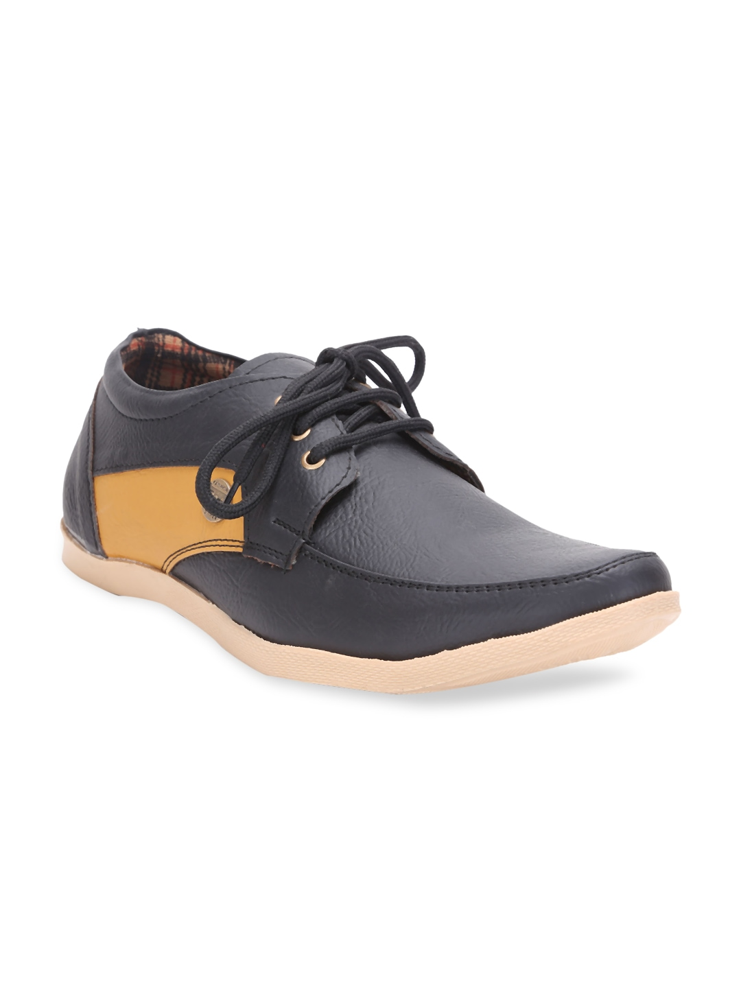 quarks men black boat shoes view product details more casual shoes by