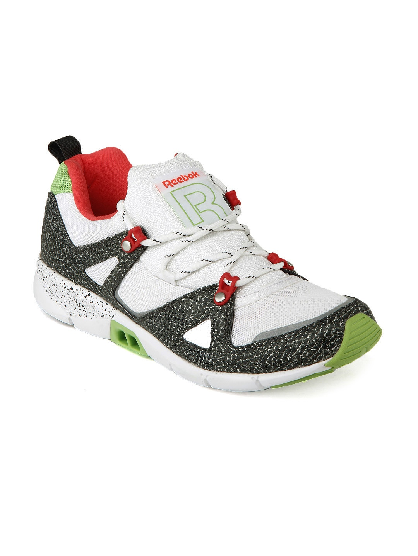 myntra reebok white grey ventilator hls sports shoes