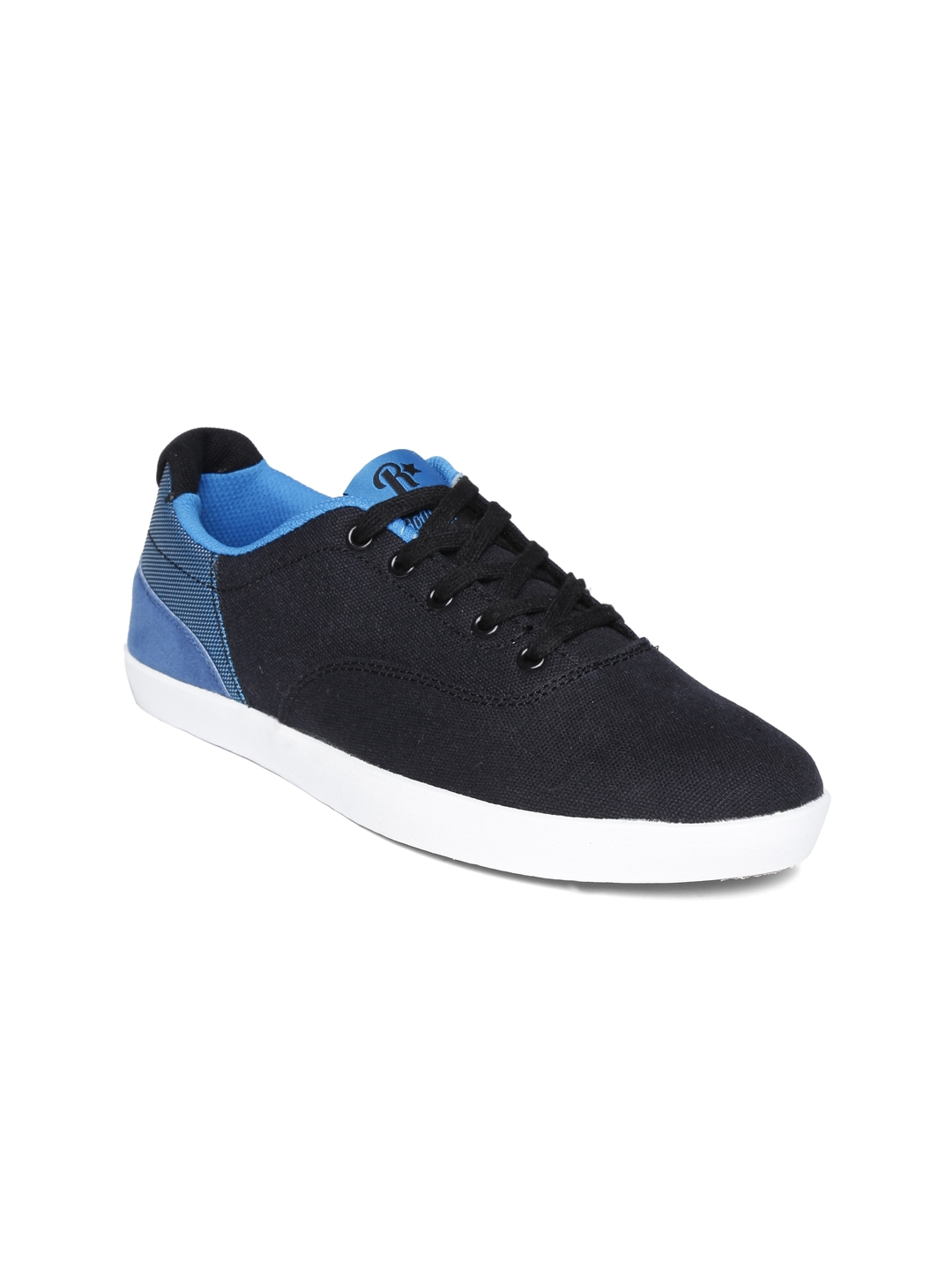 myntra roadster black casual shoes 652738 buy myntra