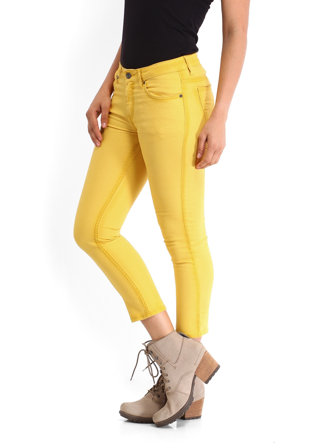 Beautiful Ami Mustard Chino Pants In Yellow For Men Mustard  Lyst
