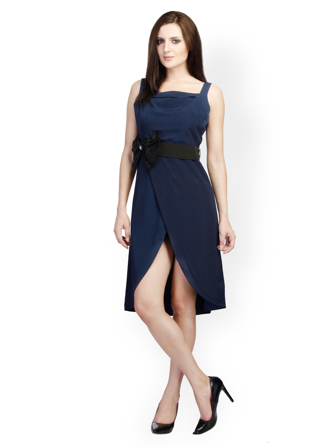 Elegant DRESSBERRY WOMEN BLACK DRESS WORTH RS 1699 ONLY FOR RS 1509