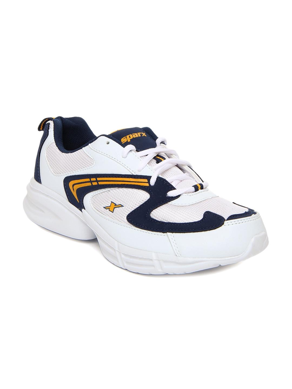 myntra sparx white sports shoes 287534 buy myntra