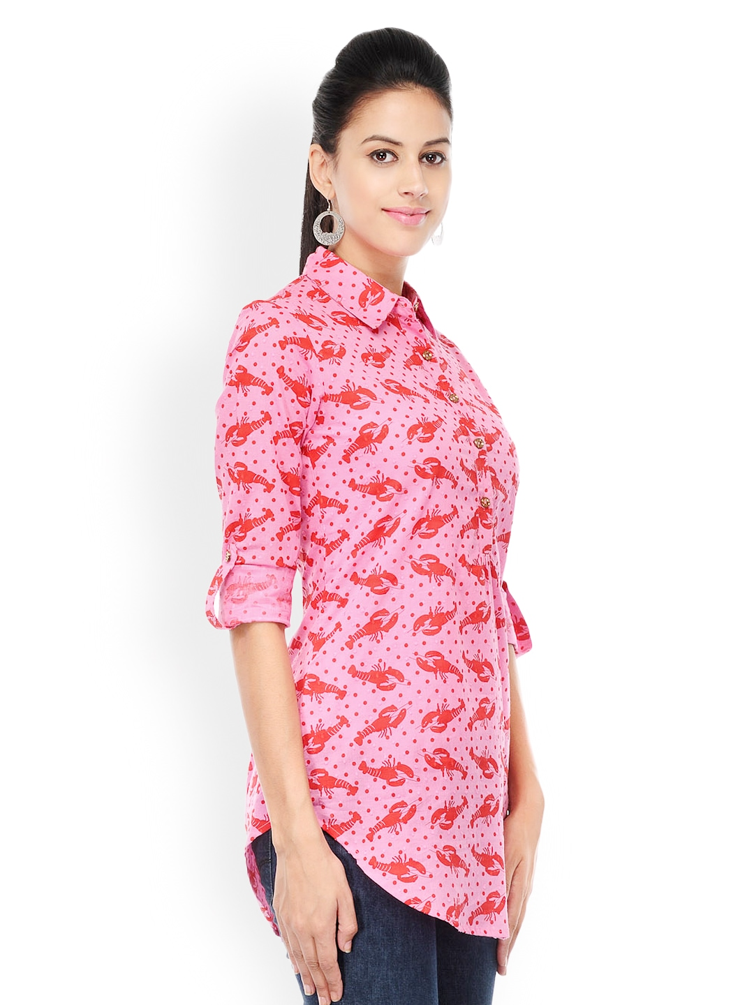 Product Features cold shoulder sleeve soft tunic top,flattering and elegant style.